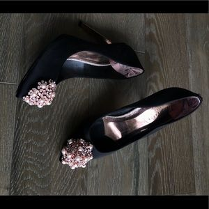 Ted baker heels - with rose gold and pearl details